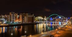 25 photos of Newcastle by night as city cements its place as one of the UK's most beautiful