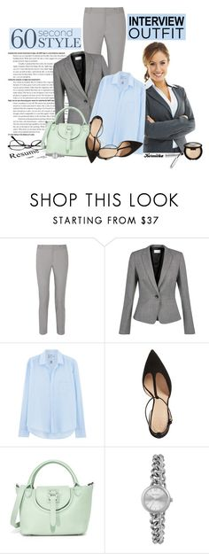 """""""nr 402 / 60-Second Style: Job Interview"""" by kornitka ❤ liked on Polyvore featuring Raoul, Hobbs, Frank & Eileen, Tory Burch, Meli Melo, Accessorize, Becca, jobinterview and 60secondstyle"""