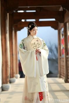 mingsonjia:流烟昔泠 Liuyan Xiling Hanfu (Ming Dynasty style Pifeng...