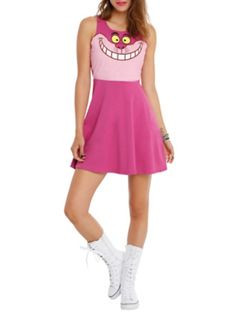 Disney Alice In Wonderland Cheshire Cat Costume Dress