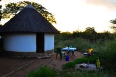 Balule satellite Restcamp in Kruger Park by Faruk Waja South Africa Holidays, Kruger National Park, Gazebo, Wildlife, Outdoor Structures, Cabin, House Styles, Places, Nature