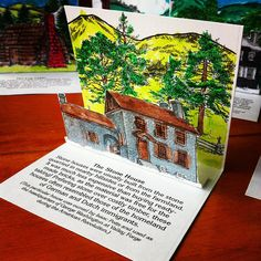 Colonial Stone house via Flickr Time Traveler curriculum @homeschoolinthewoods