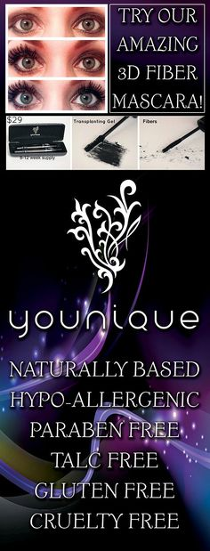 Buy here: Www.youniqueproducts.com/aliciaapuzzo Like my Facebook page: Www.facebook.com/youniquewithaliciaapuzzo Add me on Facebook: Alicia Younique Apuzzo Contact me for more info on joining my team / hosting a virtual party: Alicia.youniqueuk@gmail.com