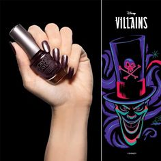 Chanel Your Inner Villain With The Villains Collection From Morgan Taylor! New Nightmare, Nightmare Before Christmas, Disney Inspired Nails, Morgan Taylor, Deep Burgundy, I Am A Queen, Professional Nails, Love To Shop, World Of Color