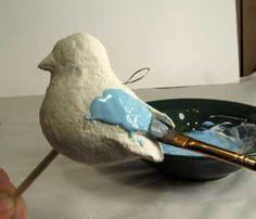 vogels papier mache - Google zoeken