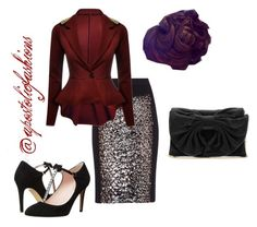 """""""Apostolic Fashions #998"""" by apostolicfashions on Polyvore featuring BCBGMAXAZRIA, Kate Spade and RED Valentino"""