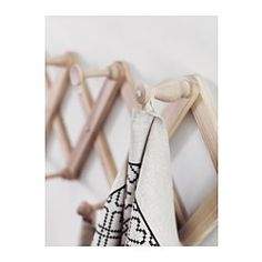 RYSSBY 2014 Wall-mounted coat-hanger - IKEA for in our closet to hang clothes we plan to wear again or use often
