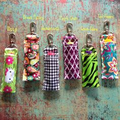 Hey, I found this really awesome Etsy listing at https://www.etsy.com/listing/199343622/lip-balm-holder-w-swivel-clip
