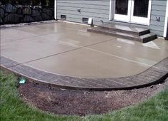 Colored Cement Patio | Concrete FX, Pool Deck And Patio Gallery, Stamped,  Stained