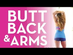 The Ultimate Butt, Back & Arms Challenge! - YouTube  3 blogilates videos, 27 minutes, 115 calories, 6/10/15