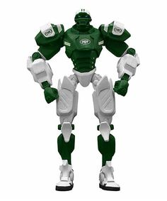 New York Jets FOX Sports Cleatus Robot Action Figure
