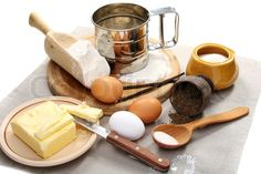 Products for cooking cakes with caraway seeds.