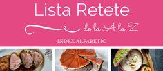 Lista retete index alfabetic savori urbane Blogging, Beef, Urban, Food, Meat, Essen, Meals, Yemek, Eten