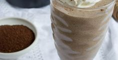 Sugar-Free Coffee Cake Protein Smoothie
