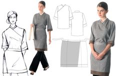 Pix For > Restaurant Uniform Design