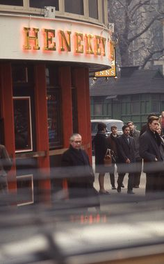 Henekey's, 21 Leicester Square, London, in 1969.