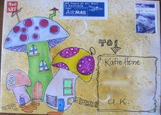 Mail art by Whisperingnan of ATC's For All. Click to view original