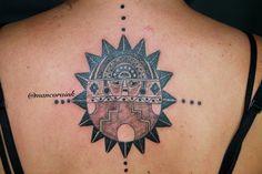 Peruvian tattoo peruvian sun inca