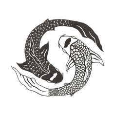 In a classic yin yang tattoo design the black and white elements shape into a perfectly balanced circle that symbolizes the circle of life. Description from design.newtattoo.net. I searched for this on bing.com/images