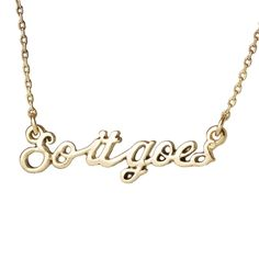 """SLAUGHTERHOUSE-FIVE """"So it goes"""" necklace"""