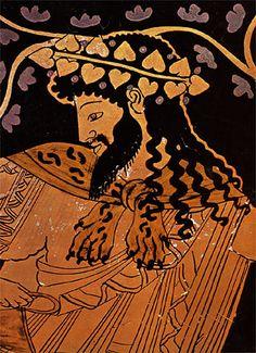 Kleophrades, Amphora of Dionysus (detail)