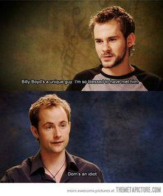 Hobbit Friendship