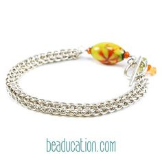 Search for the Parisian Chain class @ Beaducation.com and learn how to make you own!