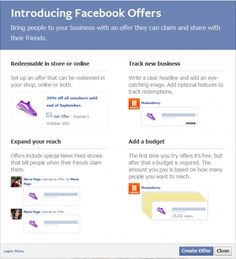 How to use Facebook Offers - Smart Insights Digital Marketing Advice