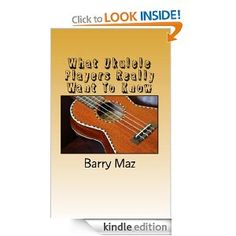 The bestselling beginners guide and handbook for the ukulele aimed specifically at new players or those thinking of taking up the uke. Many ukulele guides available are far too prescriptive and quite simply don't provide the answers to the common questions a beginner has.