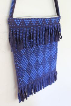 Vintage 1970s Beaded Plastic Purse by TheAquaNest on Etsy, $15.50