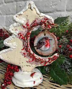 Немного импровизации на новогоднюю тему❄️ Кстати эта композиция может послужить отличным декором на праздничном столе а потом с ней же можно попить чай