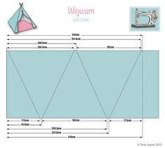 Wigwam pattern | von toriejayne