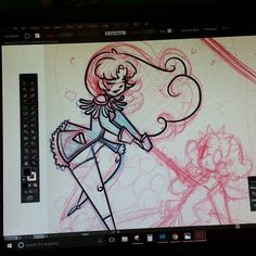 Decided to take a break and start rendering Utena I've started a list of things to draw. Also all my commissions! I promise sketches tomorrow! 48hrs left to enter my giveaway!!    #illustration #wip #art #instaart #mahoushoujo #fanart  #utena  #cute #cartoom #instagood #sketch  #process #conceptart #characterdesign  #visualdevelopment #cartoon #cute #artistsoninstagram #artistsofinstagram #illustratorsoninstagram #sketch #magicalgirl #revolutionarygirlutena  #pinup #anime