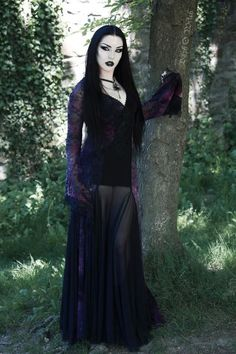 2a354be0576c9 Model MUA Edit Photo  Baph O Witch Necklace Alchemy Gothic Dress Punkrave