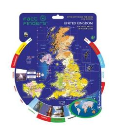 Fact Finders United Kingdom - Countries Of Europe: Amazon.co.uk: Toys & Games