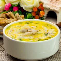 Lunch Recipes, Healthy Recipes, Romanian Food, Cheeseburger Chowder, Spices, Food And Drink, Chicken, Dinner, Cooking