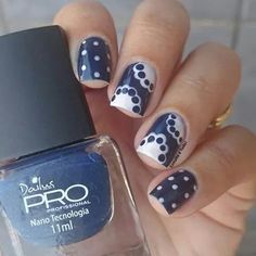 Dots and Blue