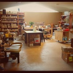MarchMeetTheMaker Day 24: Milestone  The day I was able to move into this studio and start making it my own.