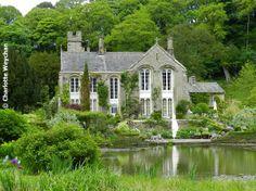 Gresgarth Hall, Lancashire - home of well-known garden designer, Arabella Lennox-Boyd