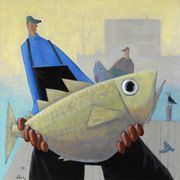 Buy a Print: David Witbeck, Painter - Specializing in seascapes, fishermen, and landscapes
