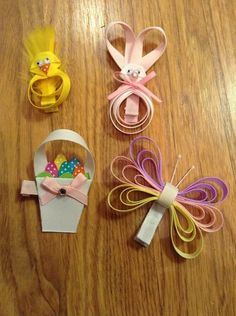 Easter bows created ... Bows inspired by Amber
