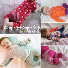 freebook coming-home-set, babyset, free download, kits4kids, freebook nähen baby 50-68