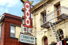 How to find the best restaurants, dim sum places, tea shops and bakeries in San Francisco's Chinatown. San Francisco Vacation, San Francisco Travel, San Francisco California, California Usa, Chinatown Restaurants, San Francisco Restaurants, San Fransisco, Best Places To Eat, Historical Photos
