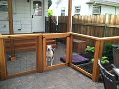 Backyard Dog Run Ideas home made dog kennels homemade dog run Find This Pin And More On Now Its The Yard Portland Landscaping Dog Run