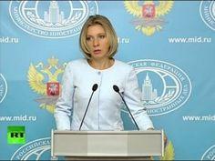 Мария Захарова проводит еженедельный брифинг (15 сентября 2016) (видео)
