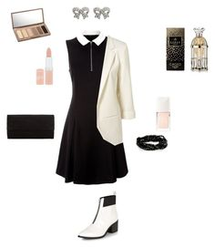 """""""Untitled #2"""" by megan-noble-1 on Polyvore featuring Lipsy, John Lewis, Urban Decay, Rimmel, Christian Dior and M&Co"""