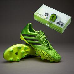 best loved 7a3cd 42019 adidas Predator LZ TRX FG micoach Bundle - GreenBlackElec