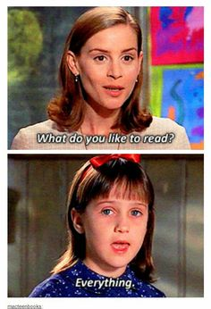 love me some Matilda