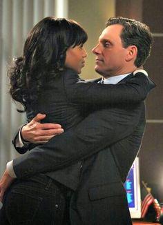 IMAGES POUR BLOGS ET FACEBOOK: Olivia et Fitz amoureux dans SCANDAL