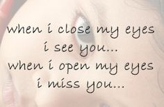 A lovely message that describes how you might miss and remember someone you love who has dies